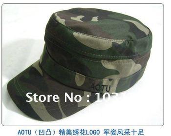 Free Shipping Camouflage Hat  Fishing Cap Camping Cap 10 pcs/lot