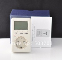 Hot Sale free shipping 1pc  EU Version Power Balance Energy Meter, Monitor Electricity, Test Equipment