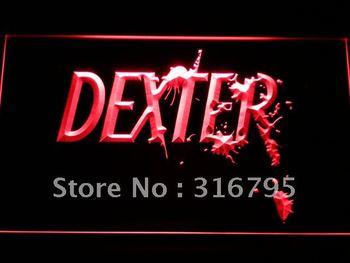 g182-r Dexter Morgan Neon Light Sign
