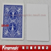 Free shipping by CPAM! 50pcs/lot Double Back BLUE&WHITE/Bicycle Poker/best quality card magic/magic toys/magic trick/magic props