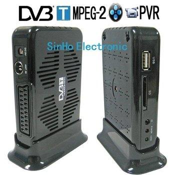 DVB-9016/Support SD Card  Mini Scart Terrestrial Receiver Tv Tuner Dvb-t Freeview Receiver Box HDTV