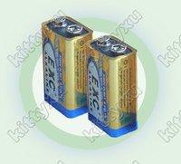 Hot! 6LR61 6AM6  MN1604 522 Alkaline battery dry Cell 9V battery 9V cell battery 10pcs Free ship by EMS