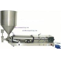 OPFP semi automatic cream fill machine with hopper