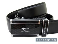 Free shipping 2011 New-Men's Septwolves Belts 100% Genuine Leather Auto black 20101 hot selling!