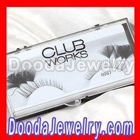 10pcs/lot,Wholesale Fashion Black False Eyelash,Grizzly Feather False Eyelash Free Shipping FE2012