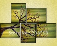 hot sale The quite tree artwork High Quality Guaranteed 100% hand-painted Abstract Painting on Canvas