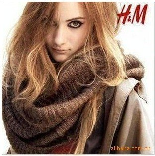 Hot! Fall Winter / Knitted scarf / Large scarf / gold scarf 3colors Free Shipping(China (Mainland))