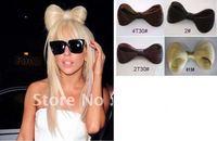 8cm Lady Gaga Wig hair Bow Clips party wig,wig bowknot