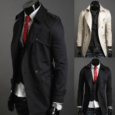 Vẻ ngoài đầy nam tính với áo khoác sang trọng