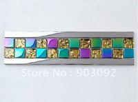 Free shipping!Glass mosaic border,wall line mosaic base molding,crown molding new design!