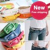 Women's thin belt. Side buckle details scalp. Fashion belt. Candy colors, jewelry. Free shipping.15 pieces/lot.New Arrival.Hot