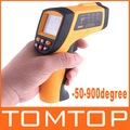 Non-Contact Laser IR Thermometer -50-900degree w/ Alarm &amp; MAX/MIN/AVG/DIF ,freeshipping dropshipping,H4329