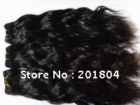 Super hair goods hair 100% brazilian virgin remy ,hair weft 20 inch,(China (Mainland))