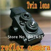 Retail and wholesale DIY 35mm Film Recesky Twin Lens Reflex Camera/Vo.1.25 LOMO camera