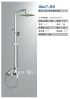 Free Shipping Fashion Bathroom Shower Set Shower Faucet Set With Green Led TL-1541