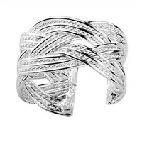 Directly factory price,Outstanding quality. Free Shipping 925 Sterling Silver ring, 925 Sterling Silver jewelry ,ring...R24