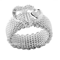 Directly factory price,Outstanding quality. Free Shipping Silver ring, 925 Sterling Silver jewelry ,ring...R63