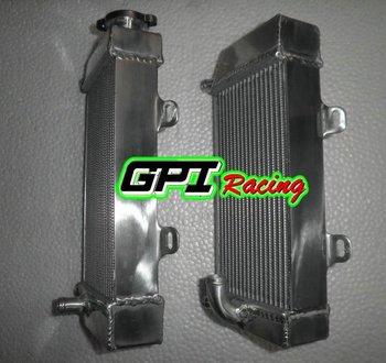 oversize FOR HONDA CRF250 CRF250X  CRF250R 04 2004 05 2005 06 2006 07 2007 dirt bike motocross alloy aluminum Radiator