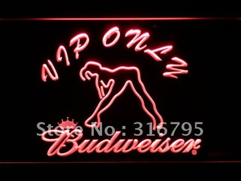 459-r VIP Only Budweiser Sexy Dancer Neon Light Sign