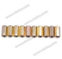 Brass Hex Stand-Off Pillars Female to Female 10mm M3 100-Pack
