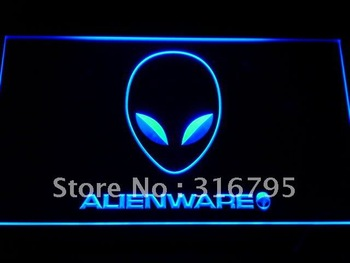 e046-b Alienware Services Neon Light Sign
