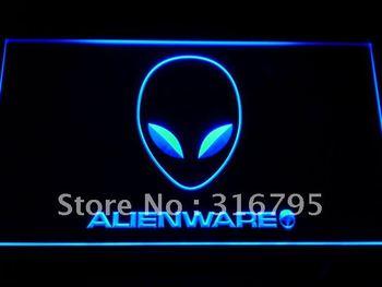e046-b Alienware Services Neon Light Sign