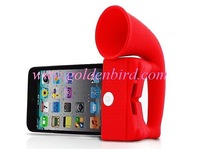 Free shipping!!10pcs/lot,horn stand holder,Portable Amplifier speaker for cellphone