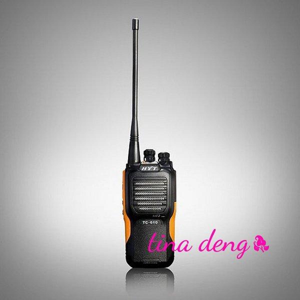 1 Licensed protable radio HYT Hytera TC-610 Two Way Radio(China (Mainland))