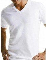 New arrival Free shipping Short-sleeve Fashion MEN Vest,Pure white,10pcs/lot