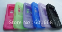 Free shipping-Silicone case fitting for N82