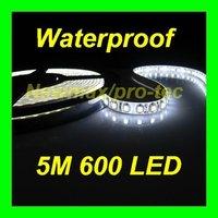 Wholesale Super Bright SMD 3528 600 White LED waterproof flexible led light strip