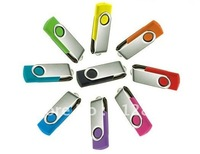 1GB-32GB OEM Swviel USB Flash Memory Drive, Logo Printing, Assorted Colors, Free Shipping !