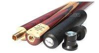U.S.A FURY Snooker 3/4 Billiards Cue SN-101 Cue+Chalk+Cue case/selected ASH wood