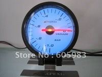"2.5"" 60 MM AP  vacuum  gauge black and white face"