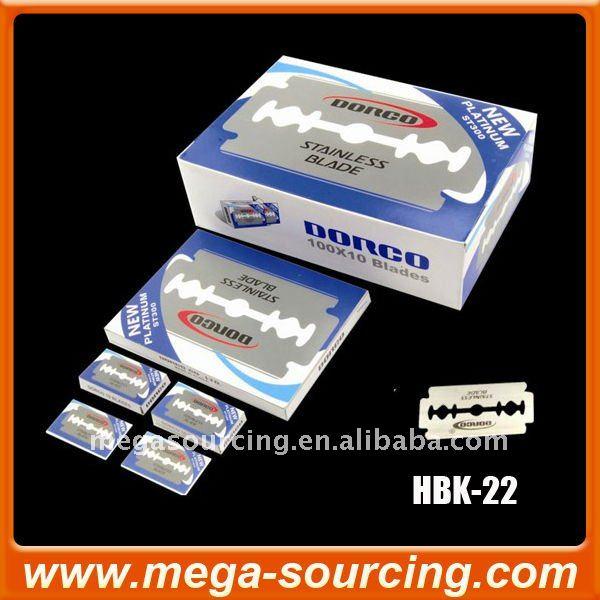 Free shipping 2000pcs/lot South Korea DORCO Razor Blade ST300(China (Mainland))