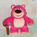 "Free Shipping Toy Story 3 Lotso Plush Doll Strawberry Bear Toy 9"" Wholesale and Retail"