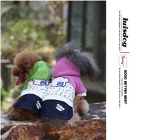 New style  free shipping pet jackets, dog fashion clothes,dog outerwear.