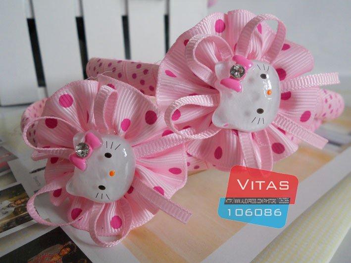 Hotsale! Hello Kitty Hair band/Cartoon headband/Lovely hair accessories/Gift headwear/Free shipping(China (Mainland))