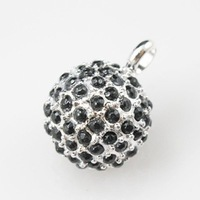 2011 New! Wholesale Free shipping 925 sterling silver / beautiful / silver pendant charm  TS 683