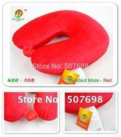 Free Shipping U Shape Massage Pillow  Red blue purple