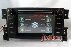 Car DVD GPS for Suzuki Grand Vitara+map+Bluetooth+ipod/iphone connectivity+USB/SD+Games+audio+FM+AM+MP3/MP4+video+free shipping(China (Mainland))