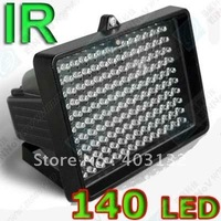 Free Shipping IP65 140 pieces 5mm diameter Leds ir illuminator F73