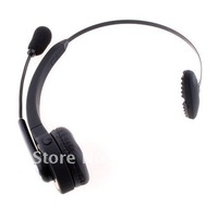 Black Wireless Bluetooth Headset Earphone For  PS3 PlayStation 3 , Free shipping