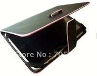 free shipping fashional 7 inch leather case for epad apad tablet pc protect flip skin case