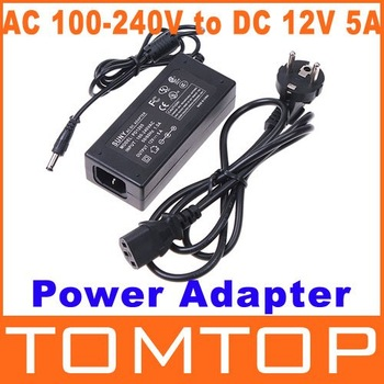 Power adapter charger 60W AC 100-240V to DC 12V 5A Power Supply Adapter Balancer Charger free shipping