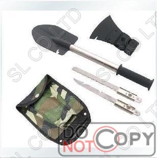 Four are multi-functional suite of military shovel - shovel \ spade military spade shovel ultra-low-ho saw blade