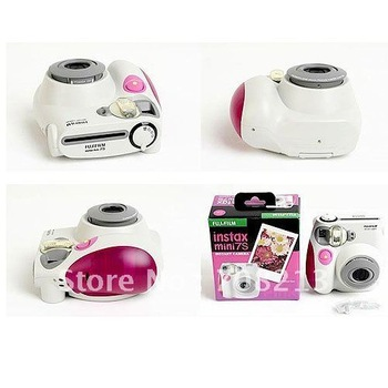 Fashion Mini 7s instant camera,lomo camera,film camera.idea christmas gift,blue and pink color