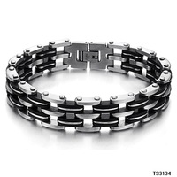 (min order 10$) stainless steel bracelets men jewelry fashion steel 200mm Stainless Steel Men's Bracelet