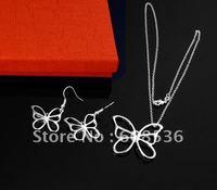 fashion jewelry,925 sterling silver Necklace & bracelet, Brand New S09