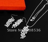 fashion jewelry,925 sterling silver Necklace & bracelet, 925 silver jewelry, Brand New S11